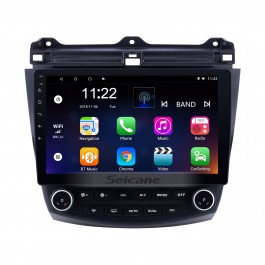 Android 10.0 Für Honda Accord 7 2003 2004 2005 2006 2007 Radio HD Touchscreen 10,1-Zoll-GPS-Navigationssystem mit Bluetooth-Unterstützung Carplay DVR