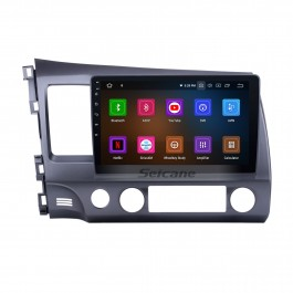 10,1 Zoll 1024 * 600 Touchscreen Android 10.0 2006-2011 Honda Civic Radio GPS Navigationssystem mit Bluetooth 4G WIFI Lenkradsteuerung Digital TV Spiegel Link OBD2 DVR Rückfahrkamera TPMS