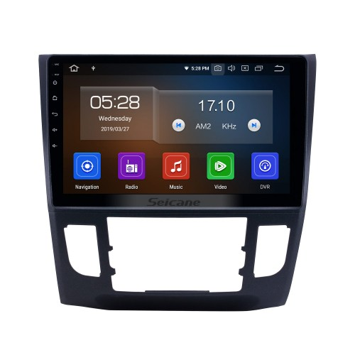 10,1 Zoll 2013-2019 Honda Crider Auto A / C Android 10.0 GPS Navigationsradio Bluetooth HD Touchscreen Carplay Unterstützung Mirror Link