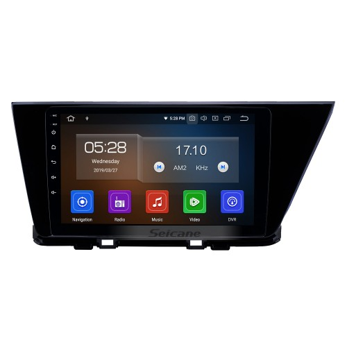2016-2019 Kia Niro 9 Zoll Android 9.0 GPS-Navigations-Radio Bluetooth HD Touchscreen USB Carplay Musik AUX unterstützt TPMS OBD2 Rückfahrkamera