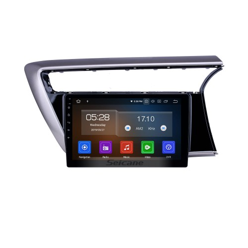 10,1 Zoll 2018 Proton Myvi Android 10.0 GPS Navigationsradio Bluetooth HD Touchscreen WIFI USB Carplay Unterstützung Mirror Link