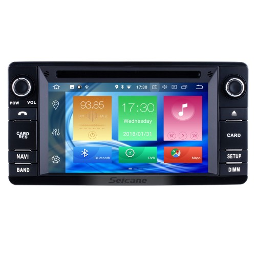 Android 8.0 Autoradio 2012 2013 2014 2015 Mitsubishi Outlander DVD-Player Hauptgerät Unterstützung GPS Navigation Audiosystem 1080 P Video Bluetooth USB SD Digital-TV WIFI Lenkradsteuerung Rückfahrkamera Auto A / V