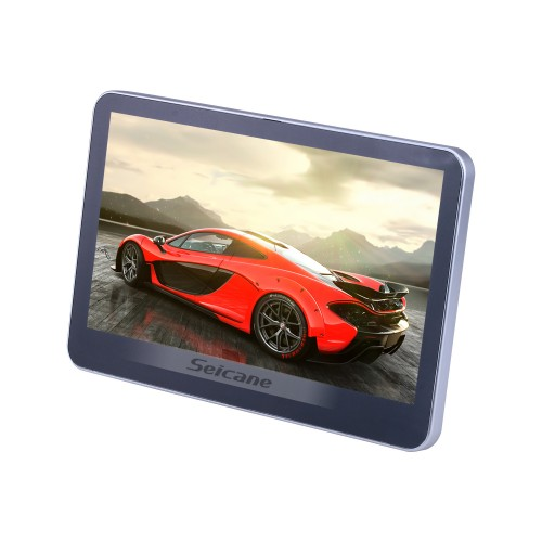 Neueste Android 6.0 Vier Kern Kopfstütze MP5-Player mit 10,1-Zoll-freies Tilt HD 1024 * 600 Digital-TFT-LCD-Touch Screen FM Transmitter IR-Transmitter USB SD Bluetooth WIFI