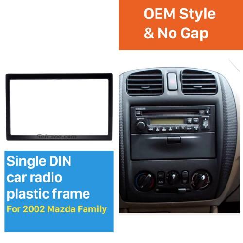 Hohe Qualität 173 * 98 2Din 2002 Mazda Familie Autoradio Fascia DVD-Player Auto-Stereo-Installation Zierblende Kit Feld-Auto-Styling