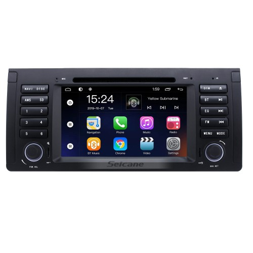 Android 7 Inch Car DVD Player for BMW X5 E53(Touchscreen,GPS,TV,Ipod,3G,Wifi)-1