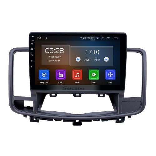 10,1 Zoll Android 9.0 GPS Navigationsradio für 2009-2013 Nissan Old Teana Bluetooth HD Touchscreen Carplay-Unterstützung Rückfahrkamera