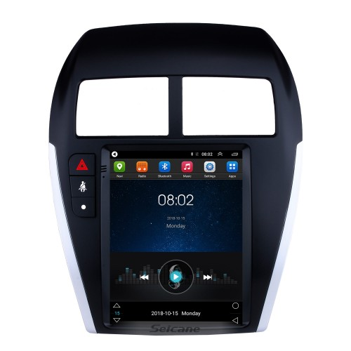 10.2 Inch 2010-2014 Mitsubishi ASX Android 4.2 Radio GPS Navigation system with 3G WiFi Capacitive Touch Screen TPMS DVR OBD II Rear camera AUX Steering Wheel Control USB SD Bluetooth HD 1080P Video