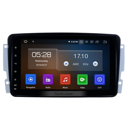 9 Inch OEM Android 4.2 Radio Capacitive Touch Screen For 2006-2013 Mercedes-Benz R300 Support 3G WiFi Bluetooth GPS Navigation system TPMS DVR OBD II AUX Headrest Monitor Control Video Rear camera USB SD