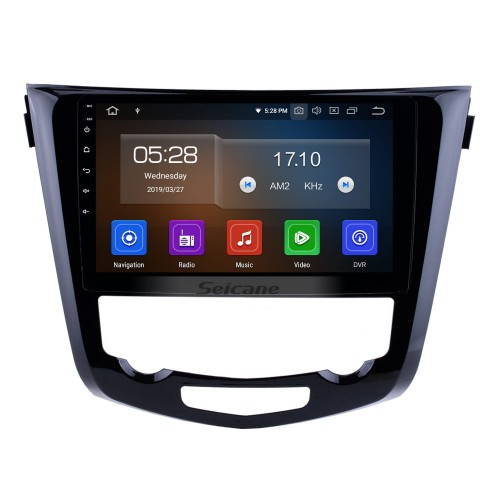 10.2 Inch Android 4.2 Radio For 2014 2015 NISSAN X-TRAIL with 3G WiFi Bluetooth GPS Navigation system Capacitive Touch Screen TPMS DVR OBD II Rear camera AUX Headrest Monitor Control USB SD Video