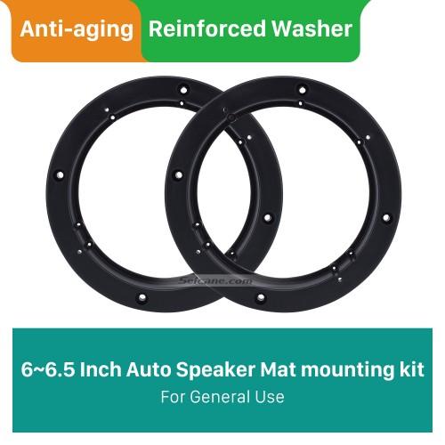 6 ~ 6,5-Zoll-Lautsprechermattenhalterung mit abgeschrägten Ringen für den allgemeinen Gebrauch