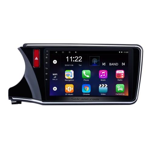 2014 2015 2016 2017 Honda CITY verließ Android 10.0 10,1 Zoll HD 1024 * 600 Touchscreen-Radio GPS-Sat-Nav-Unterstützung WIFI USB Bluetooth-Musik-Audiosystem 1080P Spiegelverbindung DVR OBD2