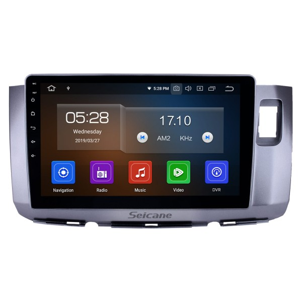 10,1 Zoll 2010 Perodua Alza Android 9.0 GPS Navigationsradio Bluetooth HD Touchscreen AUX USB WIFI Carplay Unterstützung OBD2 DAB + 1080P Video