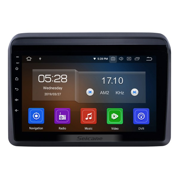 HD 10.2-Zoll-Touchscreen 2012-2015 Skoda Octavia Android 5.0.1 Radio GPS-Navigationssystem mit Bluetooth OBD2 DVR Rearview-Kamera TV-1080P 4G WIFI Lenkrad-Steuerung
