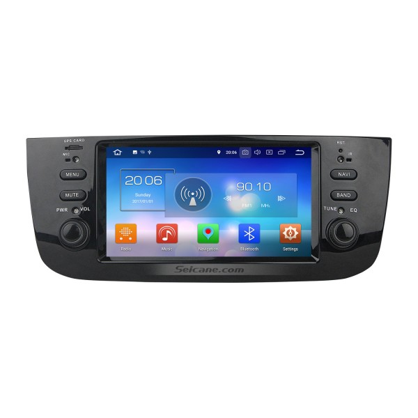 800*480 Touchscreen 2014 2015 FIAT LINEA Android 8.0 Radio-DVD-Spieler GPS-Navigationssystem mit DAB + TPMS-Radio DVR Spiegel Verknüpfung