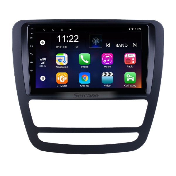 Für 2018 JAC Shuailing T6 / T8 Radio 9 Zoll Android 10.0 HD Touchscreen GPS-Navigationssystem mit Bluetooth-Unterstützung Carplay OBD2