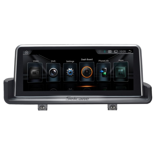 Android BMW E90 3 Series Saloon head unit DVD player GPS navigation system with 3G Wifi Radio Bluetooth-3