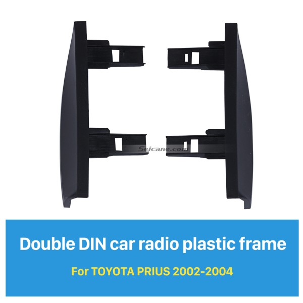 Optimal Double Din 2002 2003 2004 Toyota Prius RHD Autoradio Verkleidung Kit CD Zierrahmen Montage Frontplatte