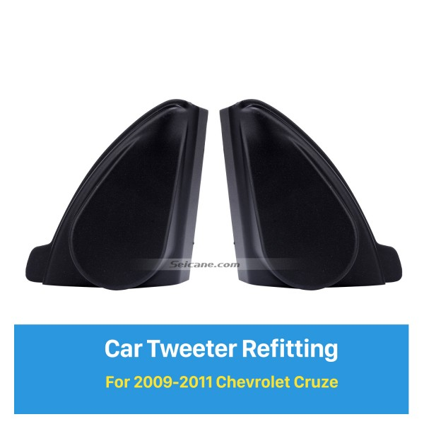 Auto Horn Refit Stereo Installation Hochtöner Refitting Boxes für 2009 2010 2011 Chevrolet Cruze Audio Tür Winkel Gums 2pcs