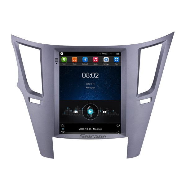 Aftermarket 9,7 Zoll Android 9.1 Radio für 2010-2014 Subaru Outback GPS Navigation HD Touchscreen Stereo Bluetooth USB USB MP4 Musik Mirror Link SWC 4G WIFI