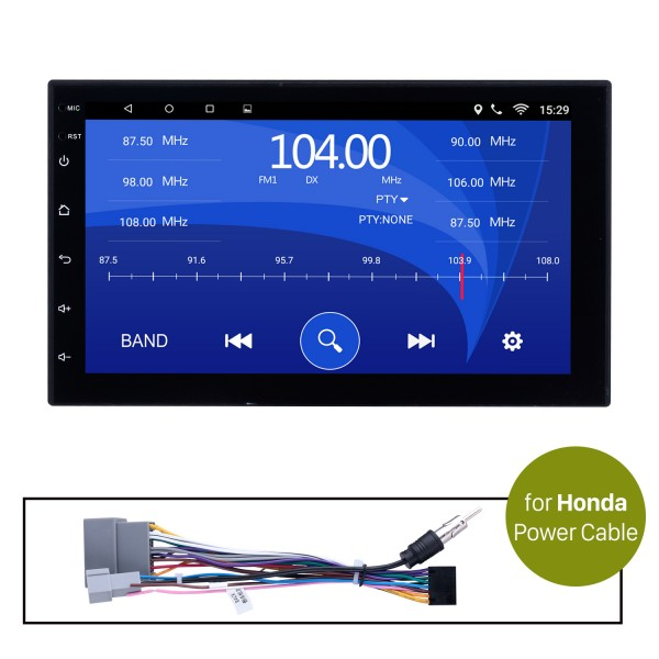 Car Radio Stereo Head Unit Power Cables For Honda For Model H605E