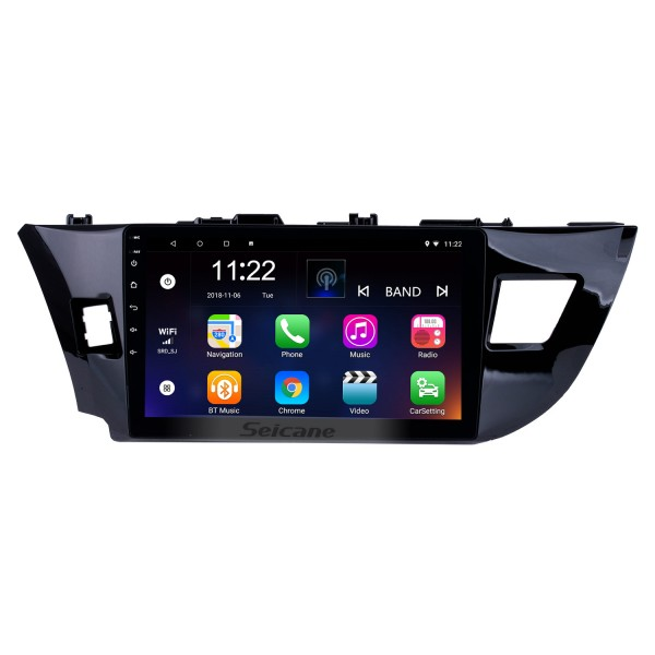 10.2 Inch Android 4.2 Touch Screen radio Bluetooth GPS Navigation system For 2013 2014 Toyota LEVIN Support TPMS DVR OBD II USB SD 3G WiFi Rear camera Steering Wheel Control HD 1080P Video AUX