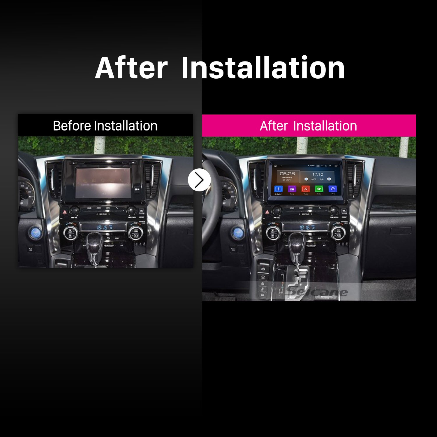 android 9 0 9 zoll gps navigationsradio f r 2009 2014. Black Bedroom Furniture Sets. Home Design Ideas