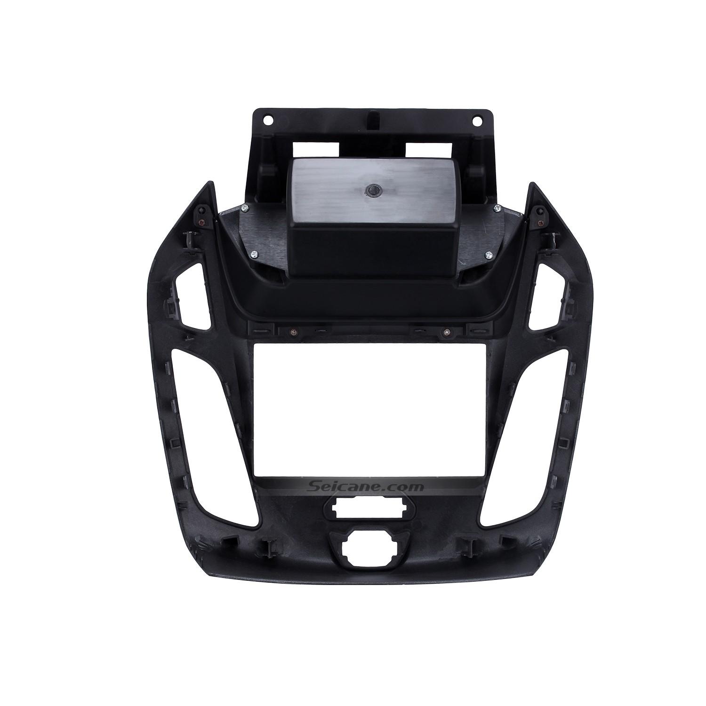 silber doppel din autoradio fascia f r 2014 2015 ford transit dash mount stereo auto. Black Bedroom Furniture Sets. Home Design Ideas