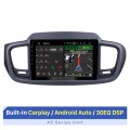 9 Zoll Für 2015 2016 Kia Sorento Android 10.0 Radio Bluetooth GPS-Navigationssystem mit Rückfahrkamera TPMS Lenkradsteuerung OBD2 DVR Rückfahrkamera Digitalfernsehen