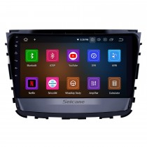 10,1 Zoll 2019 Ssang Yong Rexton Android 10.0 GPS Navigationsradio Bluetooth HD Touchscreen AUX USB WIFI Carplay Unterstützung OBD2 1080P