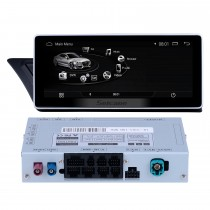 10,25 Zoll Android 9,0 Autoradio Stereo Head Unit GPS Navigationssystem für 2009-2014 AUDI A4 mit 1280 * 480 Touchscreen Bluetooth Musik WIFI FM AM Unterstützung USB Rückfahrkamera Lenkradsteuerung