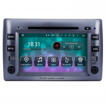 8 Zoll Android 8.0 Aftermarket Radio DVD-Player für 2005-2010 Fiat Stilo GPS Navigation Bluetooth Telefon Musik WIFI Unterstützung Rückfahrkamera Lenkradsteuerung DVR DAB +
