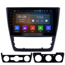 10,1 Zoll 2014-2018 Skoda Yeti Android 9.0 GPS Navigationsradio Bluetooth HD Touchscreen AUX USB Carplay Unterstützung Mirror Link