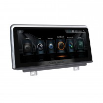 10,25 Zoll Android 10.0 HD Touchscreen 2013-2016 BMW 3er F30 / F31 / F34 / F35 Aftermarket Radio Head Unit Auto-Stereo-GPS-Navigationssystem Bluetooth-Telefonunterstützung WIFI-Lenkradsteuerung Rückfahrkamera
