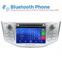 Android 8.0 In Dash DVD GPS System für 2003-2009 Lexus RX 300 mit Bluetooth HD touch screen IPOD OBD2 DVR Rückfahr kamera TV 1080P Video 3G WIFI Lenkrad-Steuerung USB SD