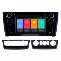 7 Zoll Android 9.0 HD Touchscreen 1024 * 600 2004-2012 BMW 1er E81 E82 116i 118i 120i 130i mit Bluetooth Radio DVD Navigationssystem AUX Wlan Spiegel-Verbindung OBD2