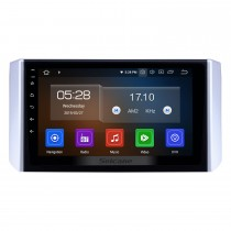 2017-2018 Mitsubishi Xpander Android 9,0 9 zoll GPS Navigation Radio Bluetooth HD Touchscreen USB Carplay Musik AUX unterstützung TPMS OBD2 Digital TV