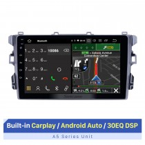 9 Zoll 2010-2018 BYD G3 Android 10.0 GPS-Navigationsradio WIFI Bluetooth HD Touchscreen Carplay-Unterstützung TPMS DVR