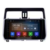 10,1 Zoll Android 9,0 GPS Navigationsradio für 2018 Toyota Prado Bluetooth HD Touchscreen AUX Carplay Unterstützung Rückfahrkamera