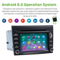 OEM Android 8.0 DVD-Player GPS Navigationssystem für 2005-2008 Porsche CAYMAN mit HD 1080P Video Bluetooth Touchscreen Radio Wlan TV Backup Kamera Lenkradsteuerung USB SD
