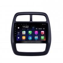 9 Zoll Android 10.0 GPS Navigationsradio für 2012-2017 Renault Kwid mit Bluetooth USB HD Touchscreen Unterstützung Carplay DVR OBD