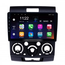 Android 8.1 9 Zoll Touchscreen GPS Navigationsradio für 2006-2010 Ford Everest / Ranger mit Bluetooth USB WIFI AUX Unterstützung Rückfahrkamera Carplay SWC