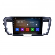 10,1 Zoll Android 9.0 GPS-Navigationsradio für 2013 Honda Accord 9 Niedrige Version Bluetooth HD Touchscreen WIFI Carplay Unterstützung Rückfahrkamera