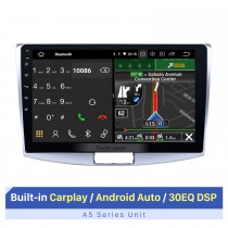 10,1 Zoll Android 10.0 Für 2012 2013 2014 VW Volkswagen Magotan Radio Upgrade 1024 * 600 Multitouch-Bildschirm GPS-Navigation Stereo-CD-Player SWC WiFi OBD2 Bluetooth Musik