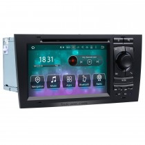 OEM Android 9.0 DVD Player GPS Navigationssystem für 1997-2004 Audi A6 S6 RS6 mit HD 1080P Video Bluetooth Touchscreen Radio WiFi TV Rückfahrkamera Lenkradsteuerung USB SD