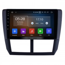 9 Zoll OEM Android 10.0 HD Touchscreen Multimedia Player GPS Radio GPS Navigationssystem Für 2008 2009 2010 2011 2012 Subaru Forester mit USB-Unterstützung 3G / 4G WIFI Rückfahrkamera DVR OBD II
