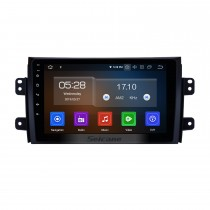 Android 9.0 HD Touchscreen Autoradio Stereo für 2007-2015 Suzuki SX4 GPS Navigationssystem Bluetooth DVD-Player Musik USB WIFI DVR OBD2 1080P Mirror Link