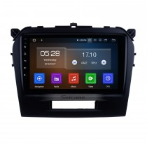Android 9.0 2015 SUZUKI GRAND VITARA-Funkersatz-Navigationssystem 9 Zoll-Touch Screen Bluetooth MP3-Spiegel-Link OBD2 3G WiFi Lenkradsteuerung