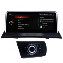 10,25 Zoll 2004-2009 BMW X3 E83 Android 9.0 Touchscreen GPS-Navigationssystem Bluetooth Stereo mit Musik AUX Wlan Unterstützung DAB + OBD2 DVR Digitales Fernsehen