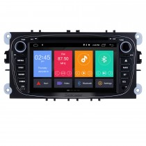 Android 9.0 1024 * 600 2008 2009 2010 FORD S-Max-Radio GPS-Navigations-DVD-Player OBD2 WiFi Bluetooth Spiegel Verknüpfung Backup Kamera 1080P Video Lenkrad-Steuerung MP3 AUX USB SD