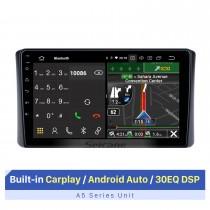 9-Zoll-Touchscreen für 1998-2002 LEXUS 4700 GPS Navi Autoradio Autoradio-System mit Bluetooth 3G / 4G Wifi-Unterstützung Split-Screen-Display